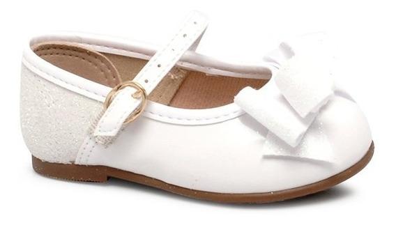 Sapatilha Infantil Molekinha Boneca 2106176 Branco