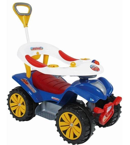 Quadriciclo Dudu Car Carrinho De Passeio E Andador Infantil