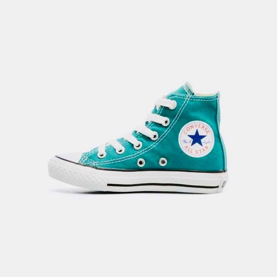Converse All Star Enfant Verde