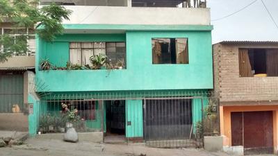 Casa 3 Pisos + Azotea En San Juan De Miraflores (pebal)