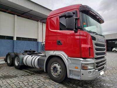 Scania G 420 A 6x4 Ano 2011 C/ Retarder = Volvo Fh Axor 2644