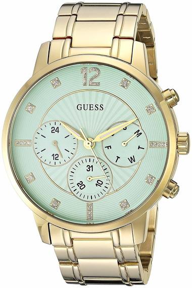 Relógio Feminino Guess Dourado U0941l6