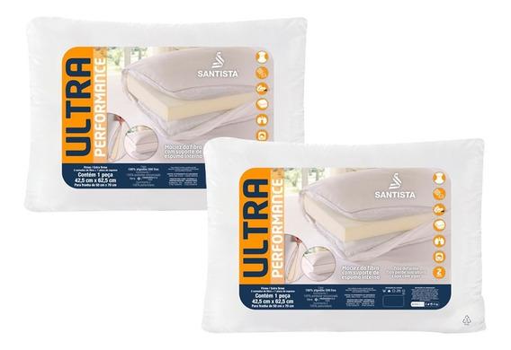 Kit Travesseiros Firme/extra Firme Ultra Performance 2 Peças