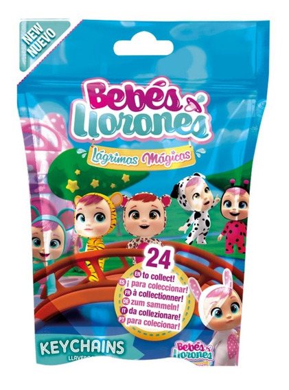 Llaveros Cry Babies Magic Tears