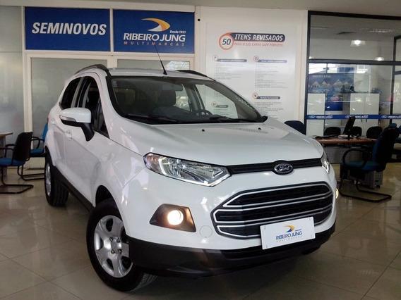 Ford Ecosport 1.6 Se Automatica 2017 Branca Flex
