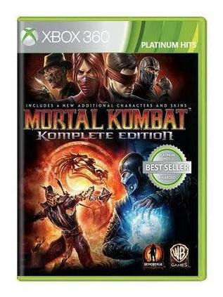Mortal Kombat Komplete Edit. Mídia Física Original- Xbox 360