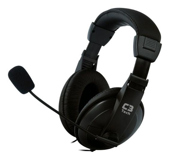 Headset C3tech Voicer Comfort Ct66 Com Microfone