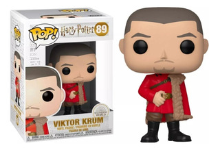 Funko Pop #89 Viktor Krump - Harry Potter - 100% Original!!