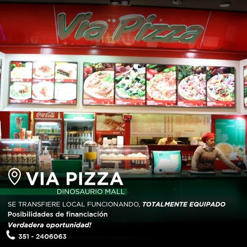 Pizzeria En Dinosaurio Mall Alto Verde Verdadera Oportunidad