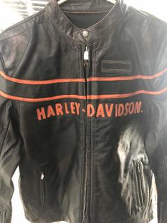 Chamarra Harley Davidson Piel Premium Slim Fit Talla L