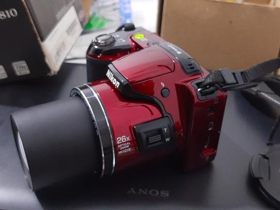 Frete Grátis! Câmera Nikon L810 Com 26x De Zoom E Acessórios