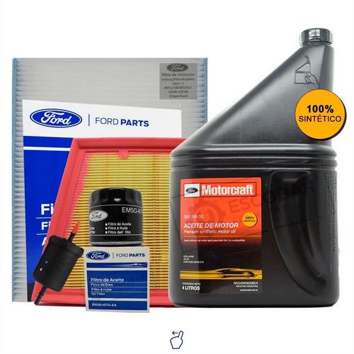 Kit 4 Filtros + Aceite 5w30 Ecosport 1.5 Dragon Original
