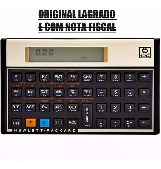 Calculadora Financeira Hp 12c Gold Português Original Lacrad