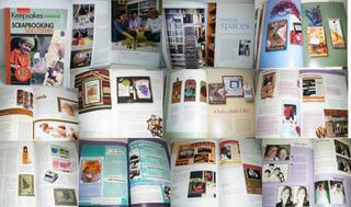 Libros Y Revista De Scrapbook