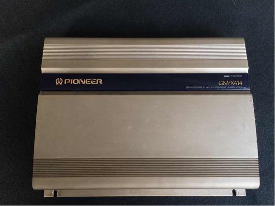 Amplificador Pioneer Old School Gmx-414 4 Canais