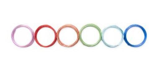 Imagem 1 de 2 de We R - Arames Coloridos Para Ferramenta Happy Jig - 6 Unid -