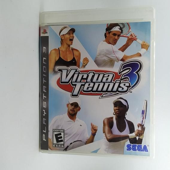 Virtua Tennis 3 Ps3 Midia Fisica *usado*