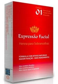 Henna Sobrancelhas 2,5g Expressão Facial Profissional Nf