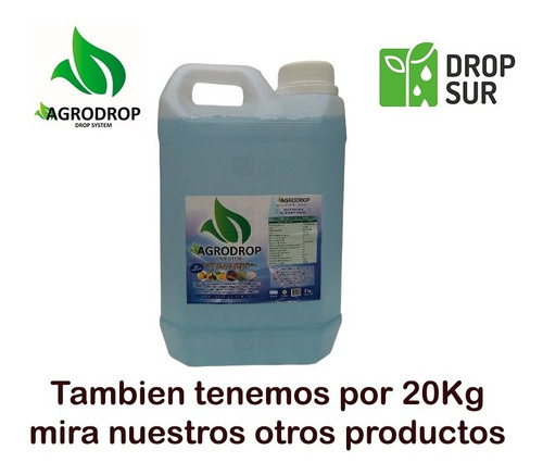 Agrodrop Drop System Paisajismo Frutales Forestal 2kg