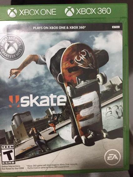 Skate 3 Xbox One E Para 360 Original