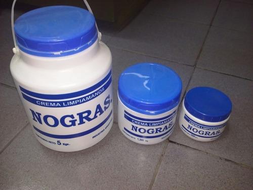 Crema Limpiamanos Nogras X Balde De 5 Kg Con Abrasivo
