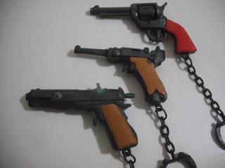 Chaveiro Victory Antigo Arma Revolver Pistola Cfe Fotos