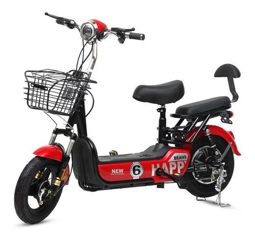Bicicleta Elétrica 350w Pedal Bateria Patinete Moto Scooter