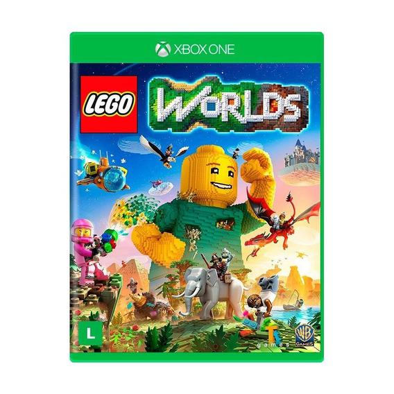 Lego Worlds Xbox One Mídia Física Lacrado