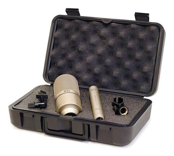 Kit Microfone Condensador Mxl 990/991 (par) - Nf + Garantia