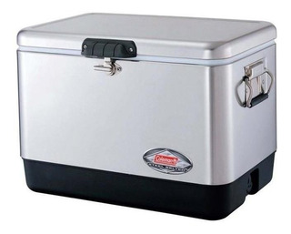 Caixa Térmica (cooler) 54qt - 51,1 Lts - Aço Inoxidável - Co