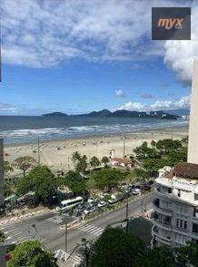 Apartamento Com 1 Dormitório Para Alugar, 45 M² Por R$ 4.000/mês - Boqueirão - Santos/sp - Ap6144