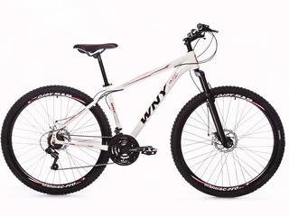 Bicicleta Wny Aro 29 Alumínio Freio A Disco 21v Kit Shimano
