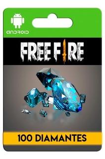Free Fire 100 Diamantes + Bonus