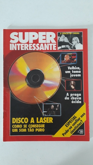 Revista Super N 5 1990 Disco A Laser Ciência No Cinema Frank