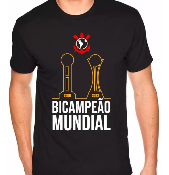 Camisa Corinthians Bicampeão Mundial