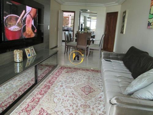 Apartamento Com 3 Quartos Para Comprar No Praia De Itaparica Em Vila Velha/es - Nva1134