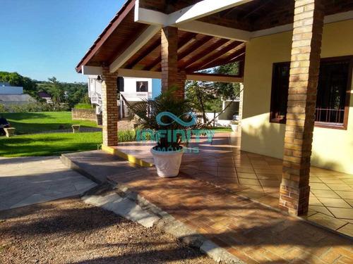 Casa De Condomínio Com 3 Dorms, Dom Feliciano, Gravataí - R$ 890 Mil, Cod: 1213 - V1213