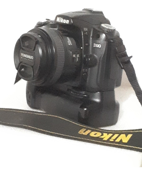 Nikon D90 Com Grip 2bat. 50mm Young. 110k. Tudo Ok.