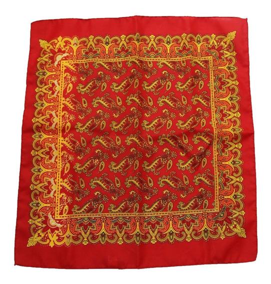 Paliacate Estampado Pañuelo Moda Mascada 62x54 Escoge Color