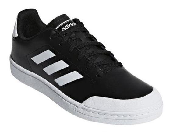 Tênis adidas Court 70s Masculino Preto E Branco-original