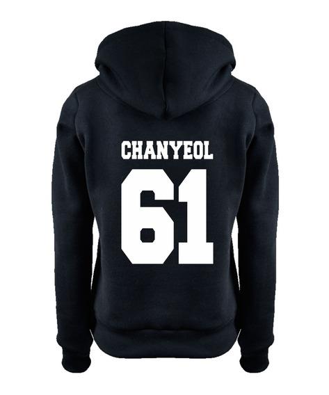 Blusa Kpop Exo Chanyeol 61 Moletom Casaco Moleton +brinde