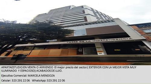 Apartaestudio En Arriendo Las Nieves 953-672