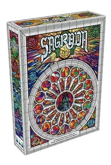 Jogo Sagrada Board Game Português Novo Lacrado Galapagos