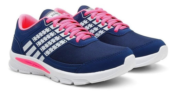 Tenis Caminhada Feminino Confortável Leve Macio Esporte