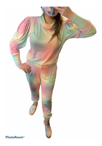 Conjunto Tie Dye Feminino Lançamento