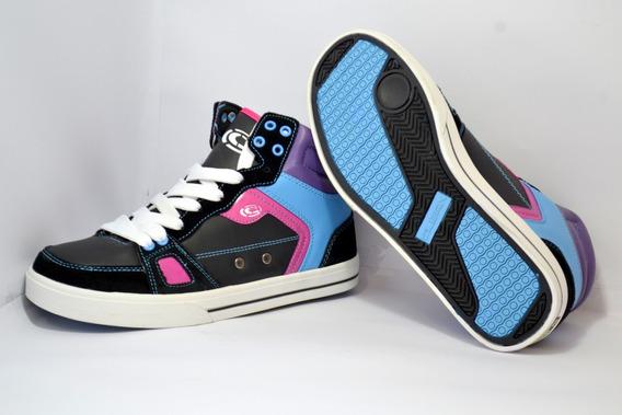 Tênis Clean Shoes Enigma Cano Alto (original) Tênis De Skate