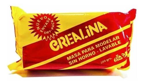 Masa Para Modelar Crealina Sin Horno Lavable 300grs Mercado Libre