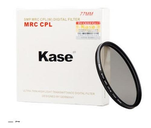 Filtro Polarizador Circular Cpl Kase Smp Mrc Cpl(w) 58mm