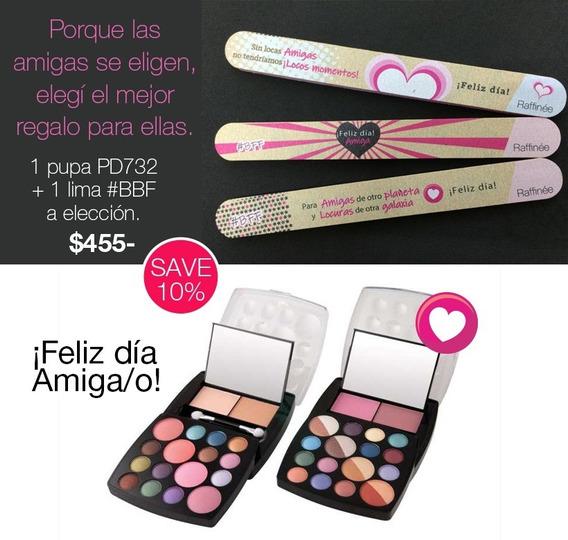 Regalo Día Del Amiga/o Súperkit De Maquillaje Sombre Y Rubor