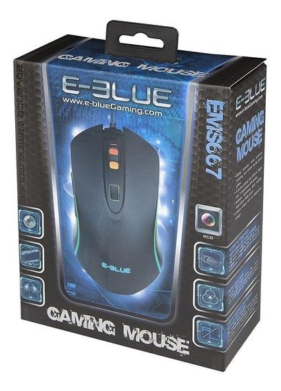 Mouse Optico Rgb Gaming 3500 Dpi - E-blue - Ems667
